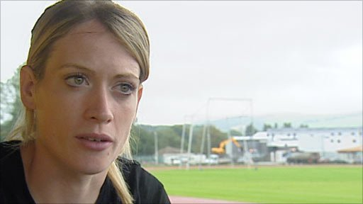 400m hurdler Eilidh Child
