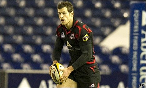 Edinburgh's Tim Visser scored a try early in the second half