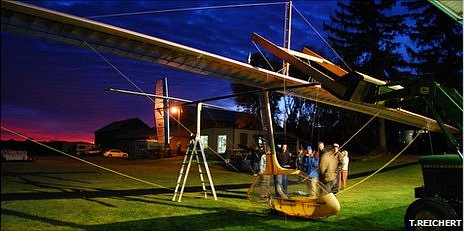 Ornithopter flown by Todd Reichert