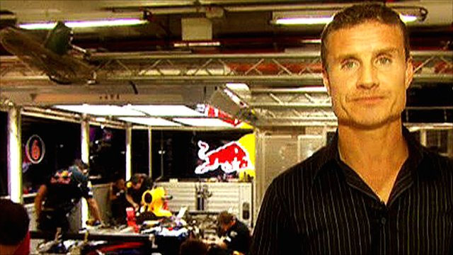 BBC F1 pundit David Coulthard