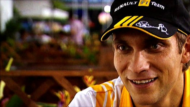 Renault's Vitaly Petrov