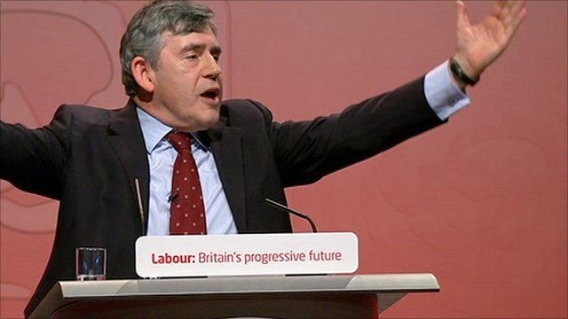 Former PM Gordon Brown