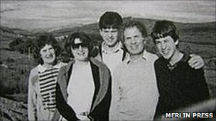Marion, her sister Hadassa, David, Ralph and Ed in 1987
