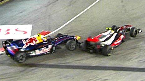 Mark Webber, Lewis Hamilton