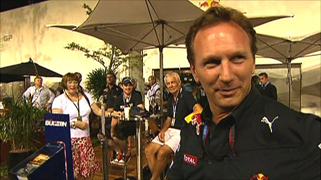 Red Bull team principle Christian Horner
