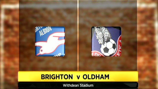 Brighton 2-1 Oldham