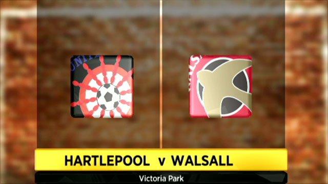 Hartlepool 2-1 Walsall