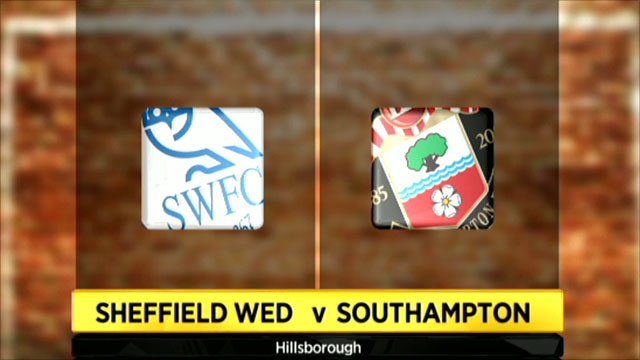 Sheffield Wednesday 0-1 Southampton