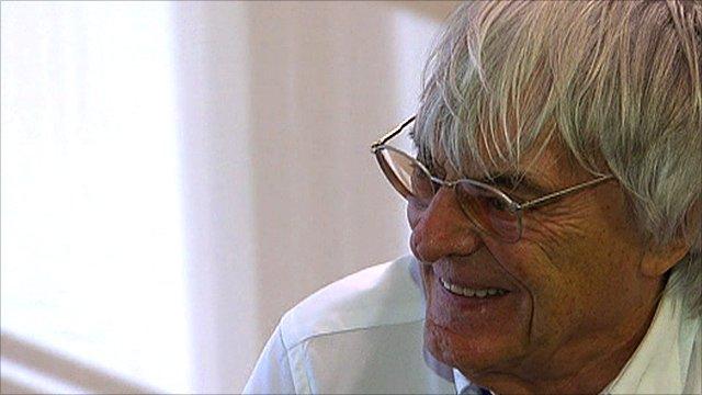 Formula 1 chief Bernie Ecclestone
