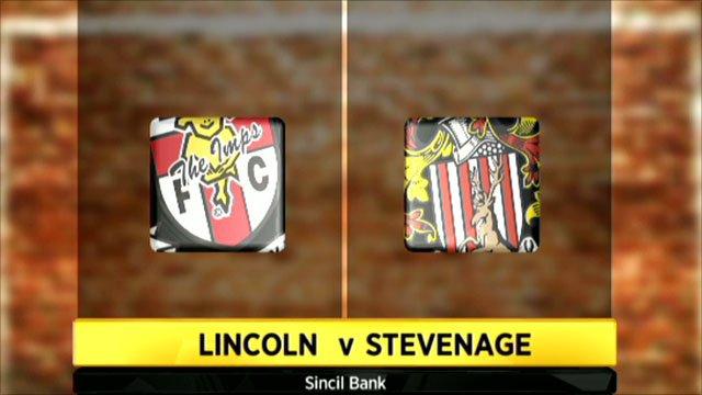 Lincoln 0-1 Stevenage