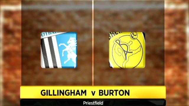 Highlights - Gillingham 1-0 Burton