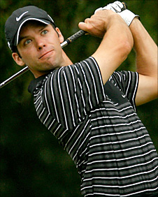 Paul Casey in action