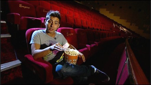 Ricky investigates the price of cinema sweets and snacks