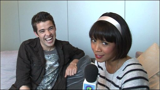 X Factor winner Joe McElderry talks to Leah