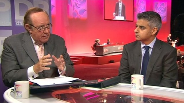 Andrew Neil and Sadiq Khan