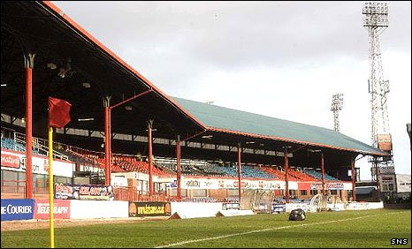 Dens Park, home of Dundee FC