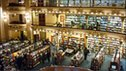 The interior of the El Ateneo bookstore