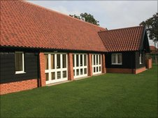 Bruisyard village hall, photo from Bruisyard.com