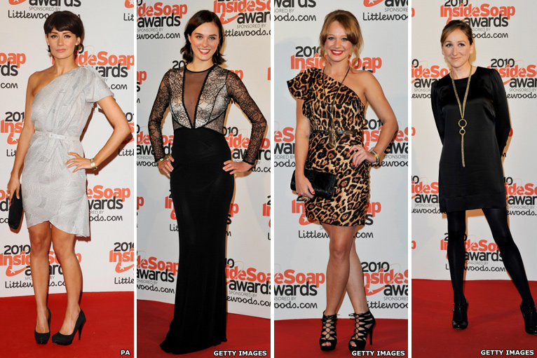 Claire Cooper, Loui Batley, Kirsty-Leigh Porter and Charlotte Bellamy