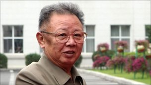 Kim Jong-il file image (27 August 2010)