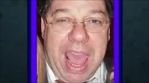 Brian Cowen after a night of, er, celebration