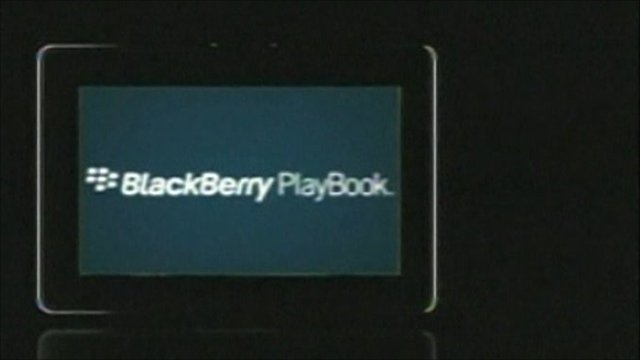 BBC News – Blackberry launches Playbook rival to iPad