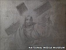 Christ Carrying His Cross by Ni�pce PIC COURTESY NATIONAL MEDIA MUSEUM