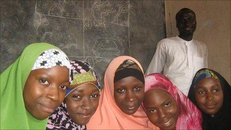 Girls at the Tattalli Free School