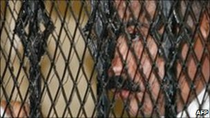 Hisham Talaat Moustafa in court in June 2009