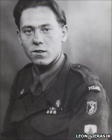 Leon Gierasik pictured in 1945 or 1946
