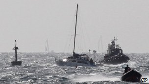 Israeli naval commando boats escort the Irene, 28/09