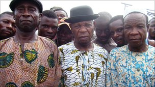 Chiefs in Bakassi who consider themselves Nigerian
