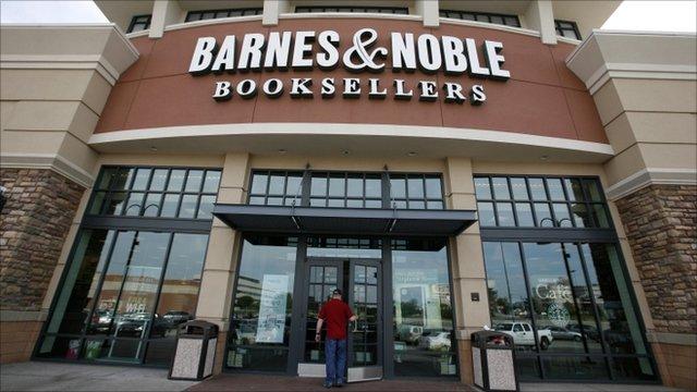 Barnes and Noble shop exterior