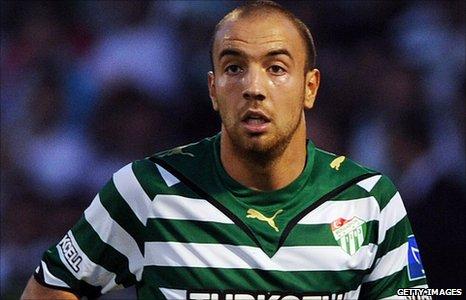 Bursaspor striker Sercan Yildirim