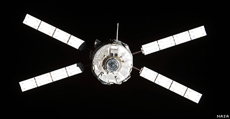 ATV in orbit (Nasa)