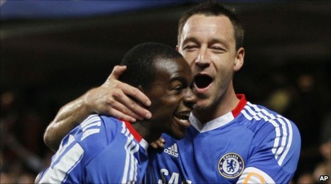 Gael Kakuta and John Terry