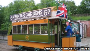 Tram from 1885