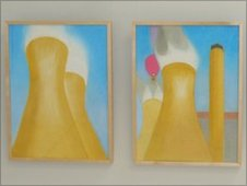 Didcot Power Station paintings