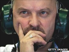 Lotus Racing chief technical officer Mike Gascoyne