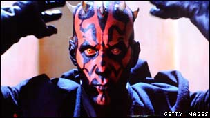 Ray Park as The Phantom Menace&#039;s Darth Maul