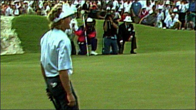 Bernhard Langer 1991 Ryder Cup