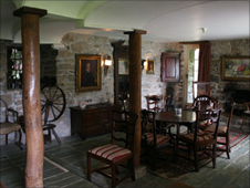 The hall at Plas yn Rhiw