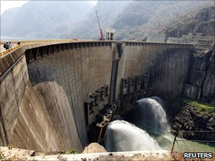 Dam in Zambia