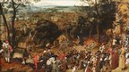 Pieter Brueghel the Younger's The Procession to Calvary (1602)