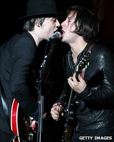 The Libertines on stage at the Reading festival in August
