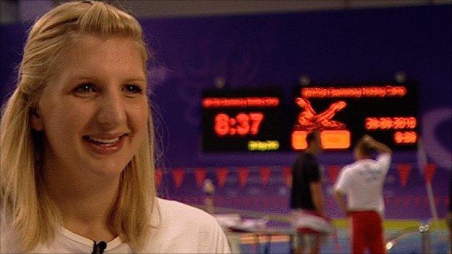 England swimmer Rebecca Adlington