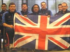 Members of the GB team