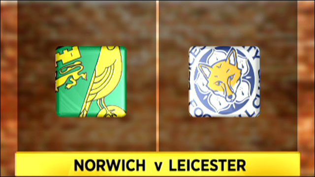 Norwich v Leicester