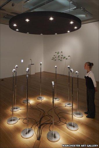 Microphones, 2008, Rafael Lozano-Hemmer