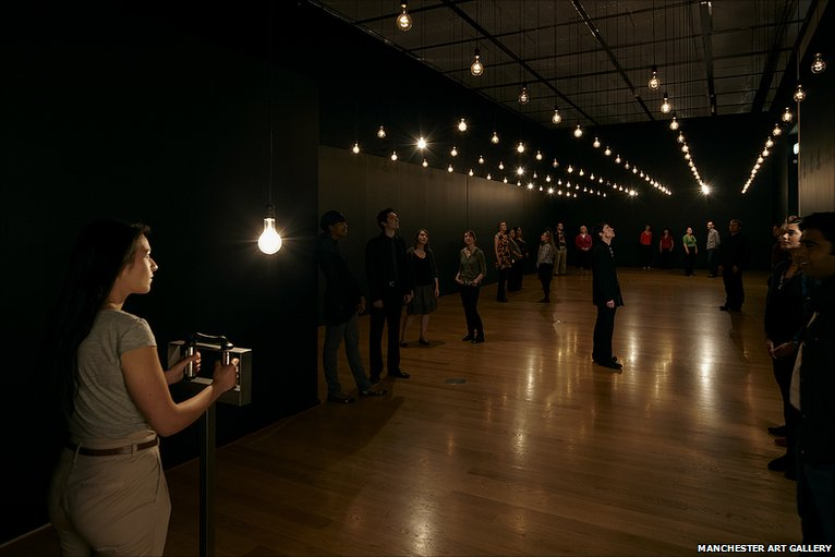 Pulse Room, 2006, Rafael Lozano-Hemmer
